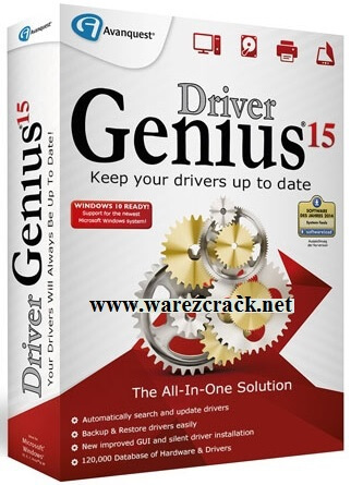 Driver Genius 15 License Code plus Crack Keygen Full Free