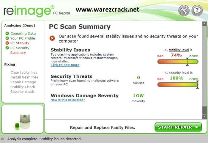 Reimage Pc Repair License Key + Crack Keygen Full Download
