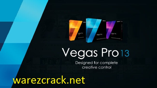 Sony Vegas Pro 13 Crack Full Version