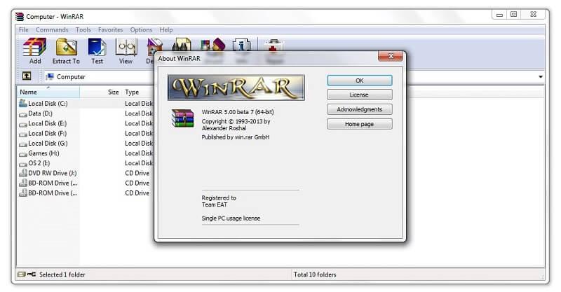 Download WinRAR Activator Full Version