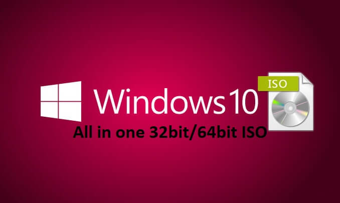 Download Windows 10 AIO 32, 64 Bit ISO plus Activator