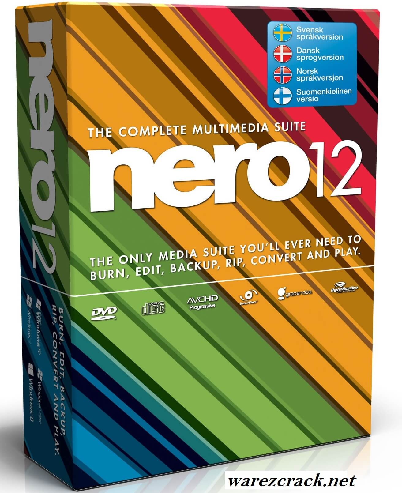Nero 12 Platinum Crack keygen plus serial key free download