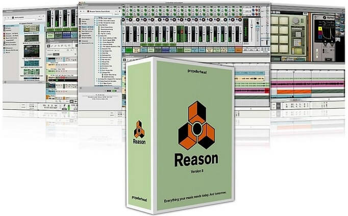 Reason 8 Crack Keygen for Mac Windows Full Download Free