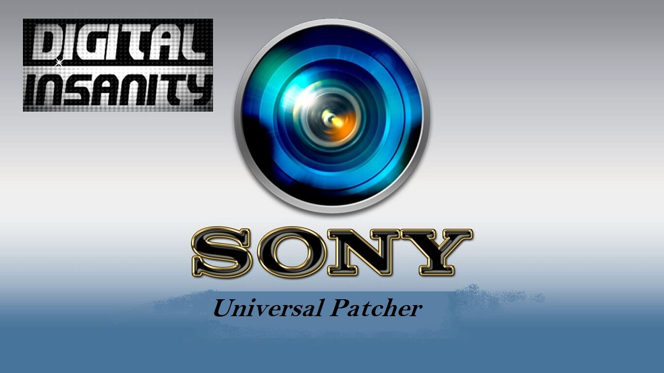Sony Universal Patcher plus Crack Free download full version
