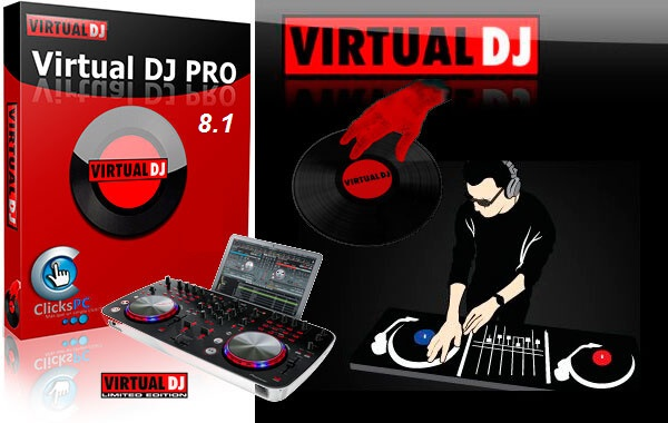 VirtualDJ 8.1 Pro with Crack Patch Key 2015 Full Version Free