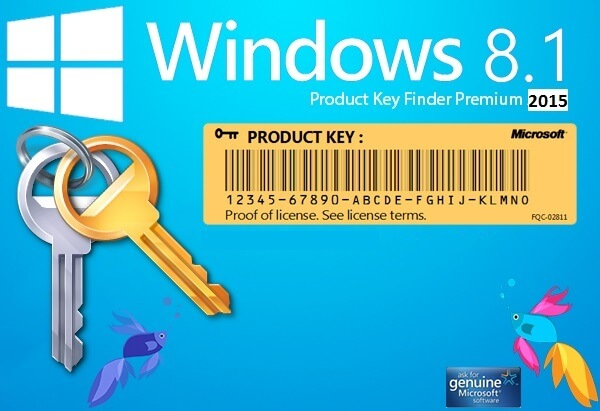 Windows 8.1 Product key Generator 2015 Full Crack Free