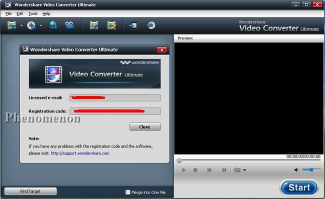 Wondershare Video Converter Ultimate Registration Code