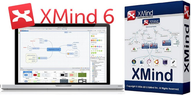 Xmind Pro 6 Crack with License key Free Download Full