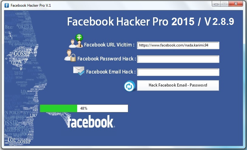 Facebook Hacker Pro 2015 Activation key plus Keygen Full Free