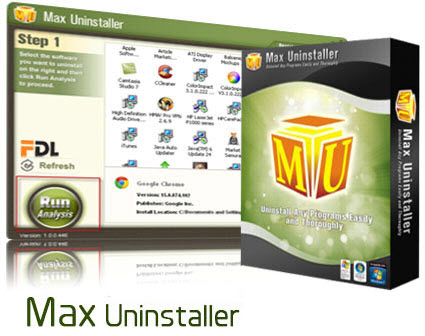 Max Uninstaller 3.6.0.1563 Full Crack keygen Free Download