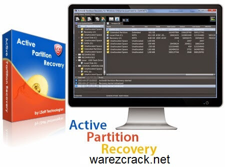 Active Partition Recovery Pro 14 Crack plus Serial key Free