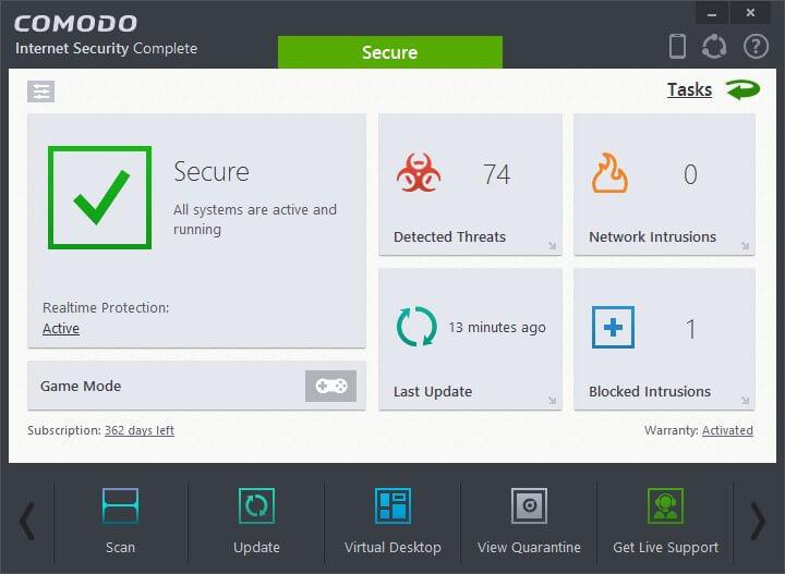 Comodo Internet Security Pro 8 Crack Free Download