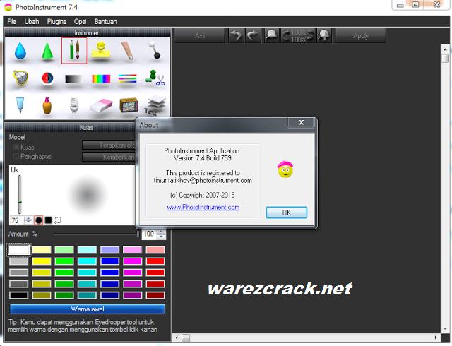 PhotoInstrument 7.8 Crack Keygen Download