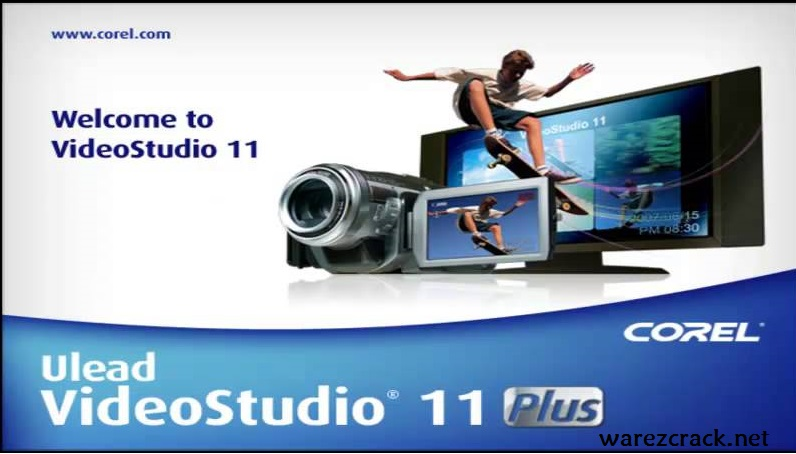 Ulead VideoStudio 11 Plus Serial Number + Crack Download