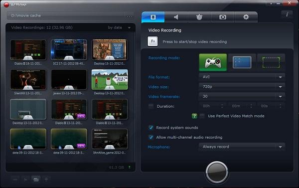 Mirillis Action Serial Key Free Download Full Version