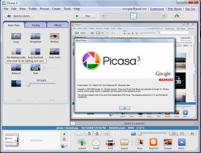 Picasa 3.9 Crack Build 138.151 Free Download