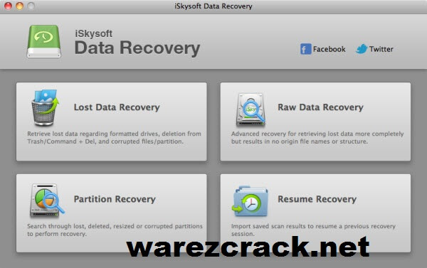 iSkySoft Data Recovery Crack Mac Download Free