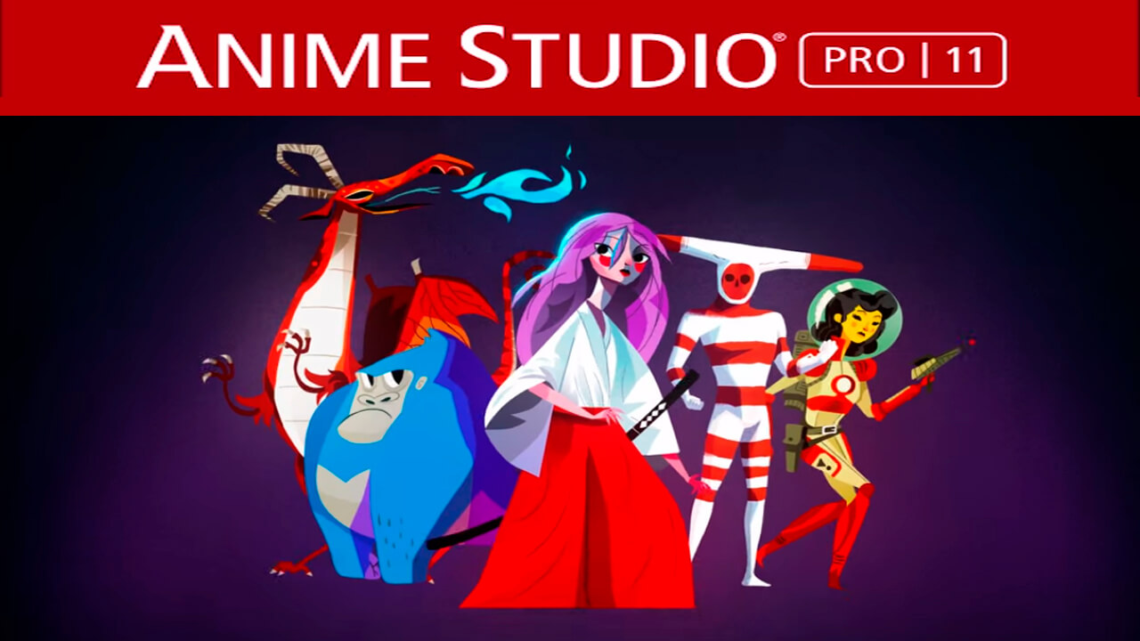 Anime Studio Pro 11.2 Cracked for Mac Free Download