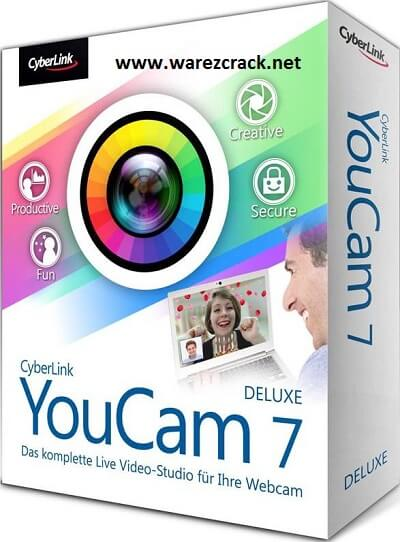 CyberLink YouCam Deluxe 7 Crack Patch plus Keygen Free
