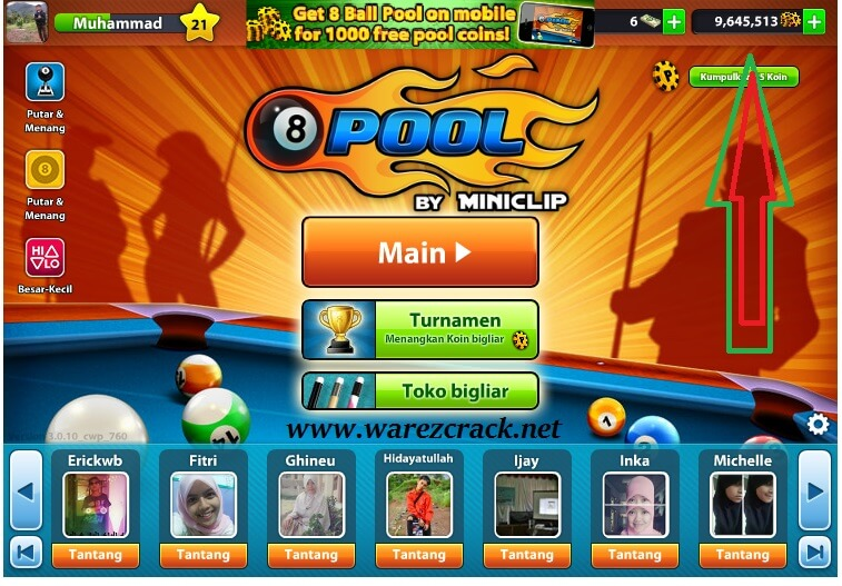 8 Ball Pool Hack Android No Survey Free Download