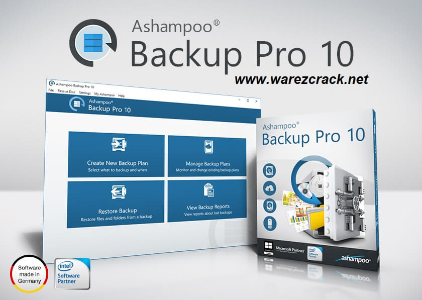 Ashampoo Backup Pro 10 Full Crack + Keys Download