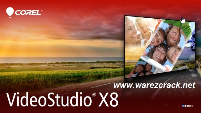 Corel VideoStudio Pro x8 Crack Keygen + Serial Key Free Download
