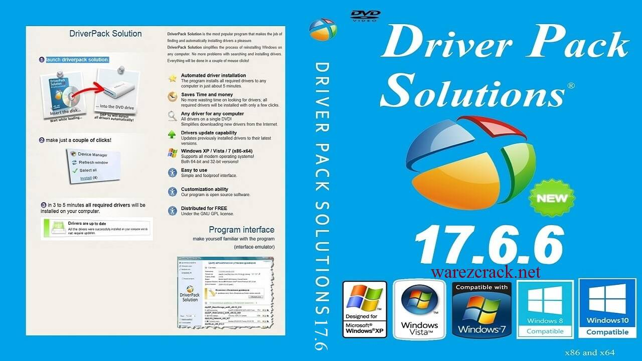 Download DriverPack Solution 17.6.6 ISO Full Version