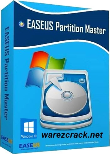EaseUS Partition Master 10.8 Crack + Serial Key Free Download