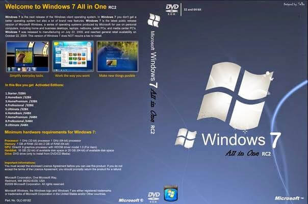 windows 7 all in one pre-activated.iso direct download