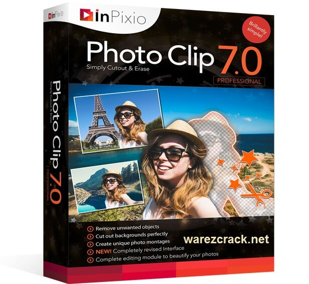 InPixio Photo Clip 7.0 Professional Full Crack Patch + Serial Key