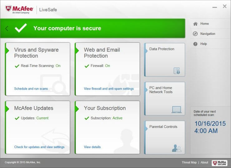 McAfee Livesafe Internet Security 2021 Serial Key Free Download