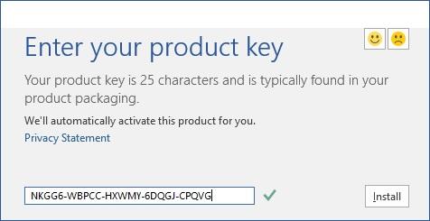 Microsoft Office 2016 Activation Key Free