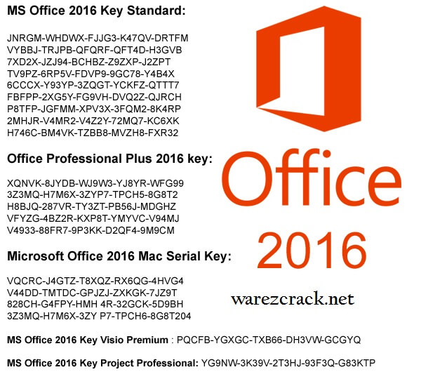 Microsoft Office 2016 Key Free Download