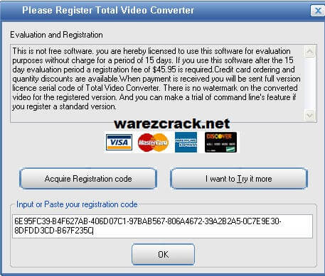 Total Video Converter 3 71 Registration Code + Serial Key Free