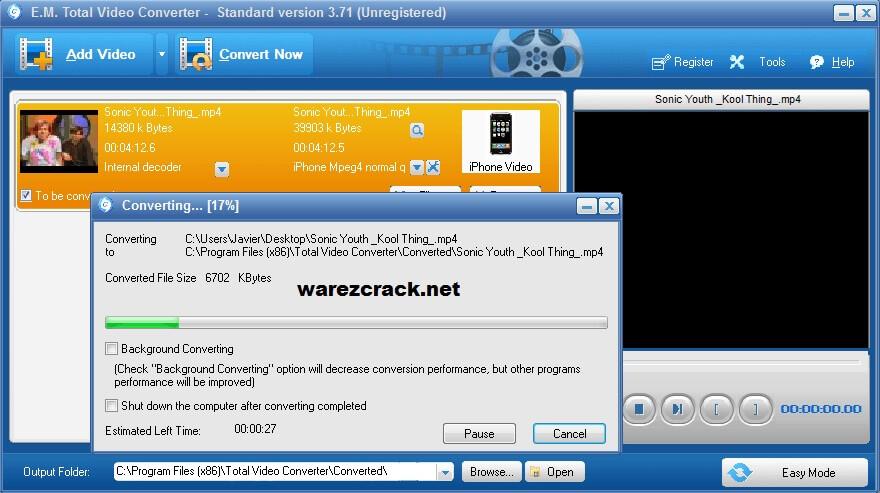 total video converter 3.71 key