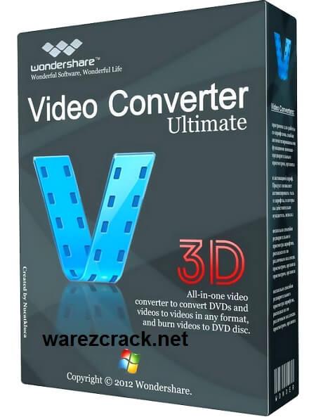 Wondershare Video Converter Ultimate 8.0.0 Serial Key Free