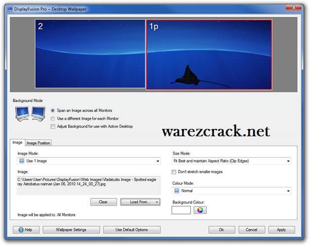 DisplayFusion Pro 9.7 Crack Free Download