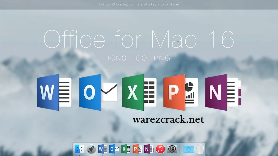 Mac Office 2016 Crack Full Activated Free Download