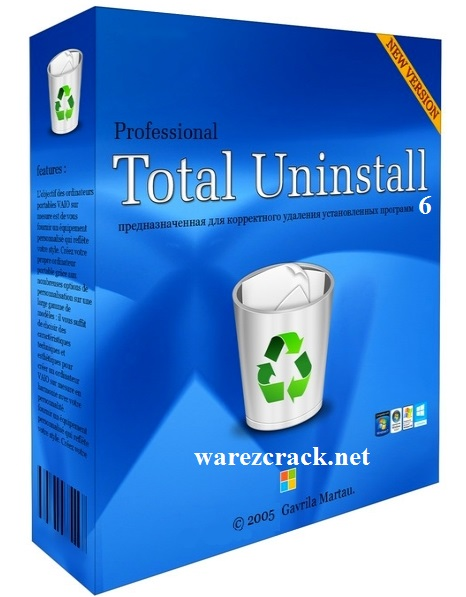 Total Uninstall Pro 6 Registration Key + Crack Full Free Download