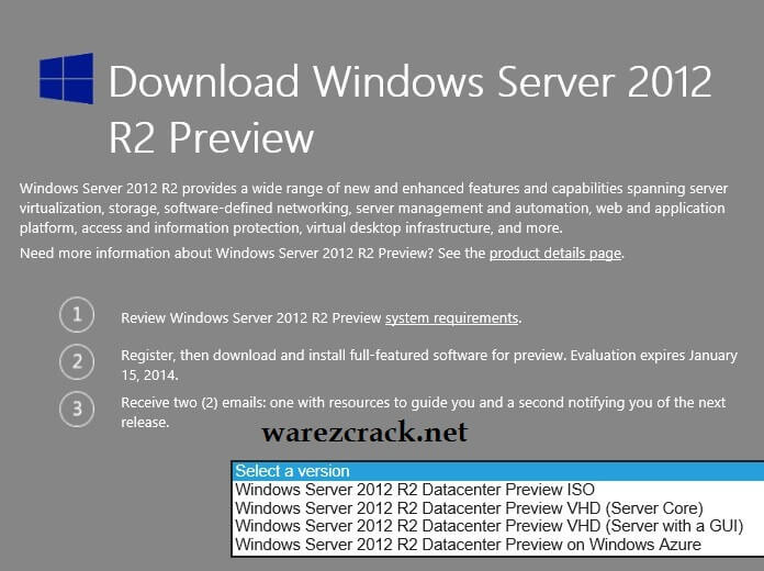 Windows Server 2012 R2 ISO 32 Bit Free Download