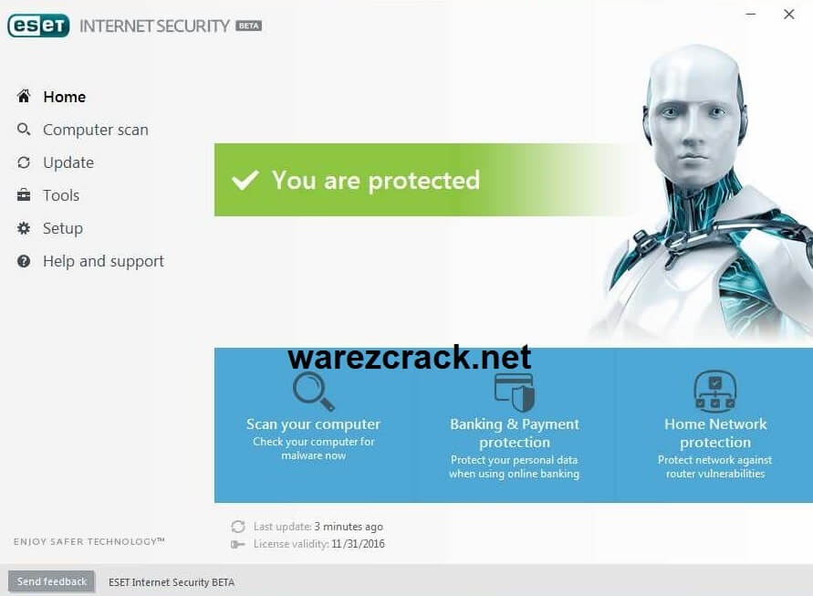 ESET Internet Security 13 License Key Free Download