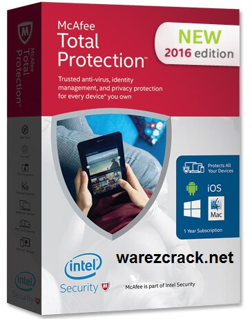 McAfee Total Protection 2016 Crack + Activation Code Free Download