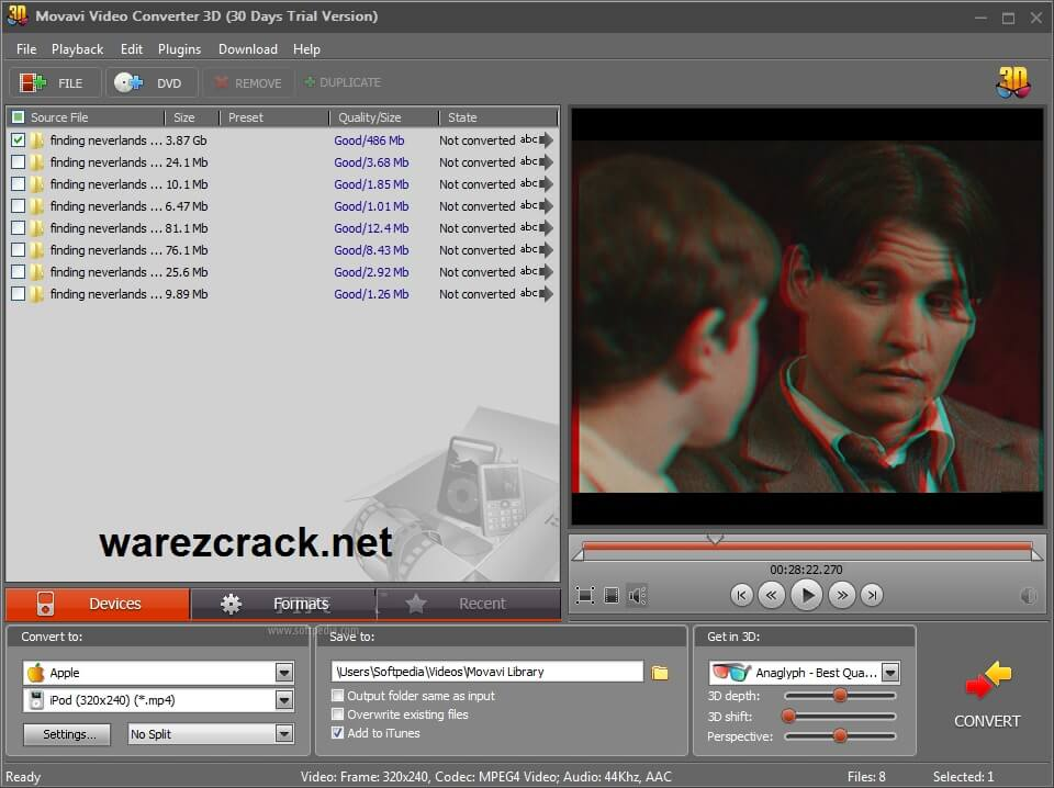 Movavi Video Converter 21.1.0 Premium Activation Key + Crack Free Download