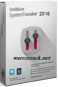 Uniblue SystemTweaker 2016 Serial Key + Crack Free Download