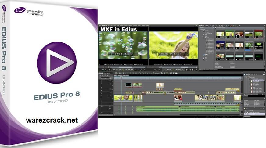 Edius Pro 8 Crack with Serial Number Free Download