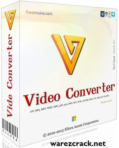 Freemake Video Converter 4.1.11.72 Crack Keygen + Serial Key Full Free