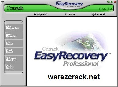 OnTrack EasyRecovery Professional Keygen Crack + Serial Number