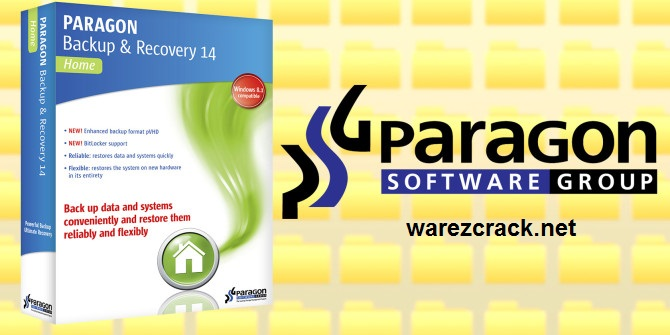 Paragon Backup and Recovery 14 Crack + Serial Key Free Download