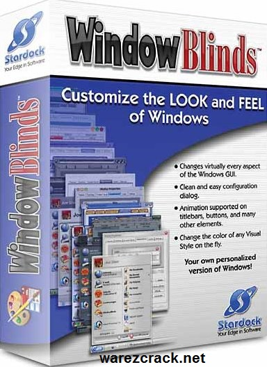 WindowBlinds 10 Crack + Product Key Free Download
