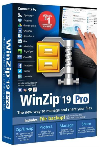 WinZip Pro Crack Archives